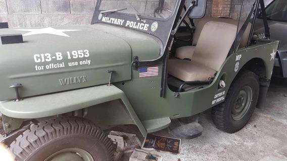 Jeep Willys Modelo Willys Cj3b