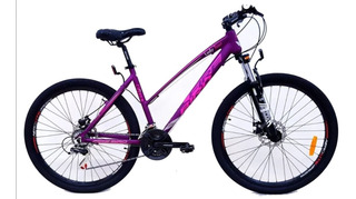 Bicicleta Mountain Bike Dama Firebird R 27.5 Lady Tour Discos Suspension Delantera Mujer Shimano