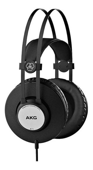 Fone Profissional Akg K72 Over Ear Fechado Estudio Gravação