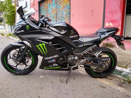 Kawasaki Ninja 300 Abs Preta 2017