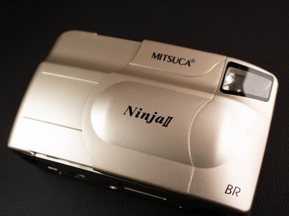 Câmera ( Revisada ) Fotográfica Analógica Mitsuca Ninja Ii