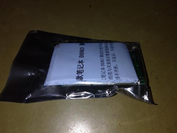 Cartão Teste De Memória Ddr3 Dual Iluminado Does Lados.