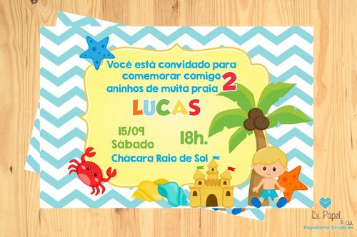 Imagem 1 de 2 de Convite Festa Infantil Digital