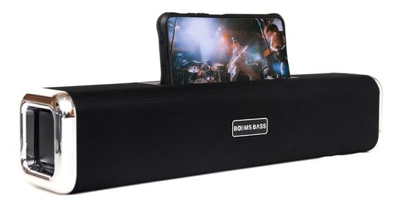 Caixa De Som Sound Bar Boombass L8 C/ Bluetooth/usb Viva-voz