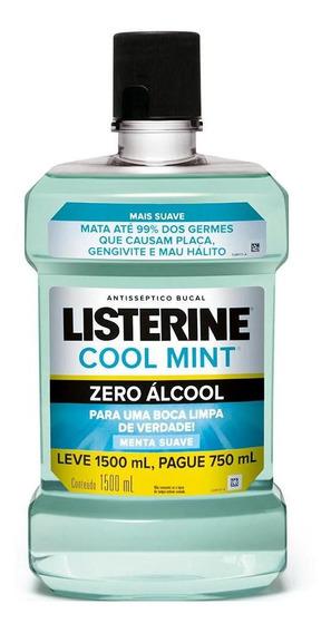 Antisséptico Bucal Listerine Zero 1,5l