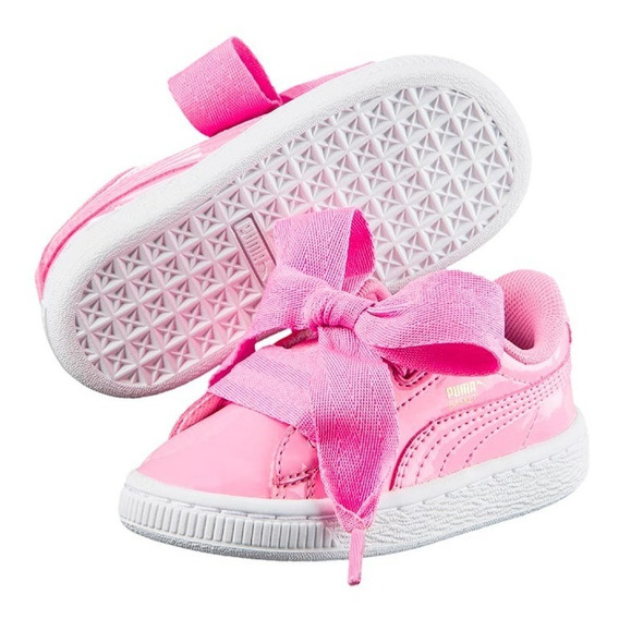 Zapatillas Puma Niño Basket Heart Patent- 6716 - Moov