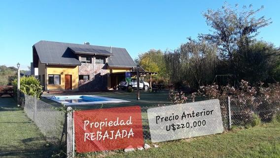 Casa Villa General Belgrano Pequeño Barrio Privado Sin Expen