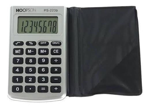 Calculadora De Bolso Hoopson Ps-2239