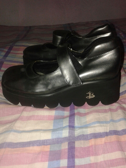 Zapatos Livianos Gris Metalizado