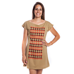Mini Vestido De Malha