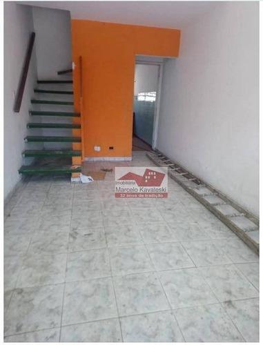 Sobrado Com 2 Dormitórios À Venda, 62 M² Por R$ 235.000,00 - Mooca - São Paulo/sp - So3246