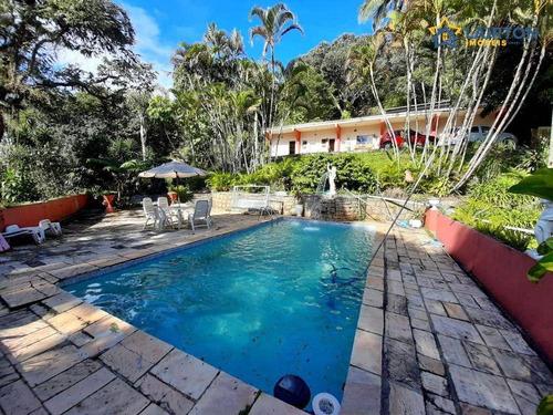 Imagem 1 de 30 de Chácara Com 4 Dormitórios À Venda, 3580 M² Por R$ 650.000 - Luiz Fagundes - Mairiporã/sp - Ch1472