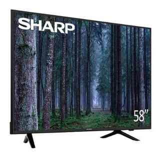 Smart Tv, Sharp 58 4k, Plataforma Roku Tv. Nuevas
