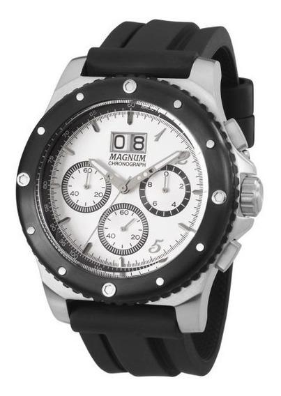 Relógio Masculino Magnum Com Cronógrafo Ma33746q