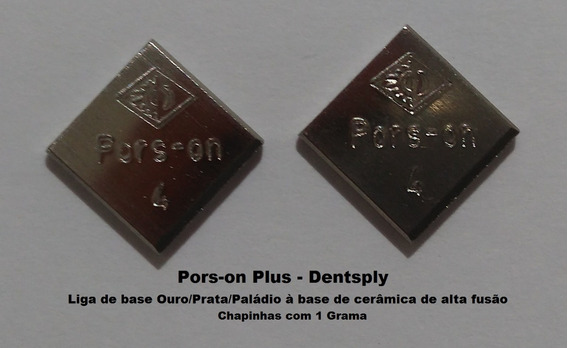 Liga P/pontes De Porcelana Ouro/prata/paladium-pors-on Plus