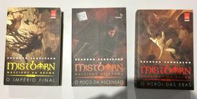 Livros Trilogia Mistborn Volumes 1, 2 E 3