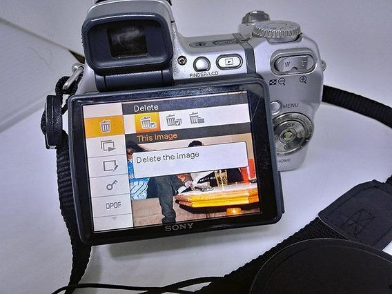Câmera Sony Cybershot Super Steady Dsc H9 15x Zoom Óptico