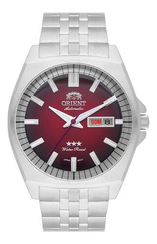 Relógio Orient Automático Masculino Vermelho F49ss010 V1sx
