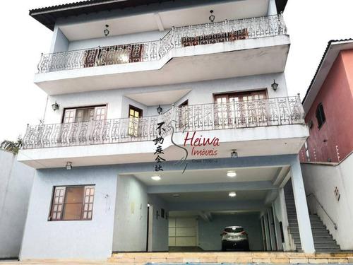 Sobrado Com 4 Dormitórios À Venda, 420 M² Por R$ 1.350.000,00 - City Bussocaba - Osasco/sp - So0840