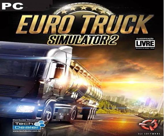 Euro Truck Simulator 2 Pc Steam Offline Original + 3 Jogos