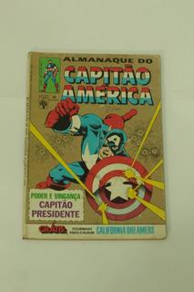 Hq Almanaque Do Capitão America N°78 Gibi Raro Editora Abril