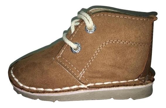 Zapato Tipo Botita Chavito Con Piel De Chicos Unisex