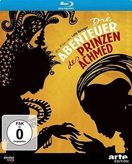 Abenteuer Des Prinzen Achmed, Die (blu-ray) : Lotte Reinige