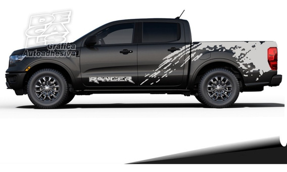 Calco Ford Ranger Raptor Laterales Juego