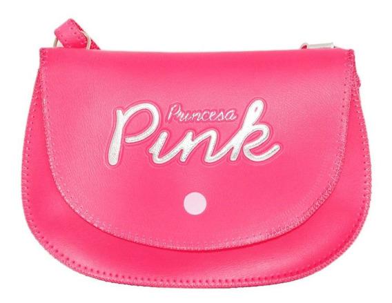 Bolsa Princesa Pink Inf. Baguete