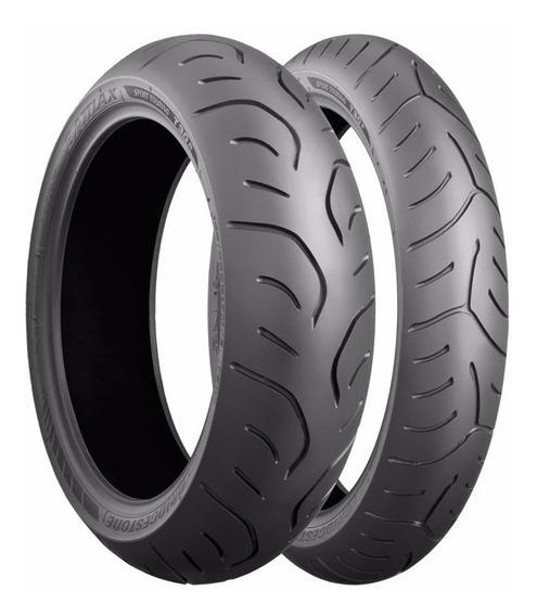 Combo Pneu De Moto Bridgestone T30 120/70-17 + 190/55-17