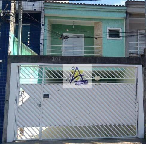 Imagem 1 de 10 de Sobrado À Venda, 185 M² Por R$ 600.000,00 - Jardim Saracantan - São Bernardo Do Campo/sp - So0111