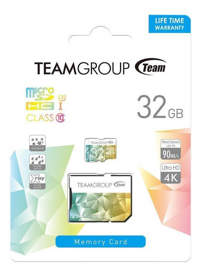 Cartao De Memoria Teamgroup 32gb Speed Tciiusdh32gu350