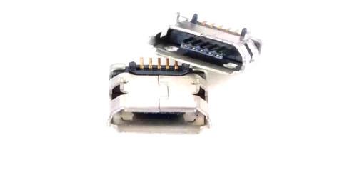 Jack Conector Carga Power Tablet Micro Usb V8 Kit Com 5un
