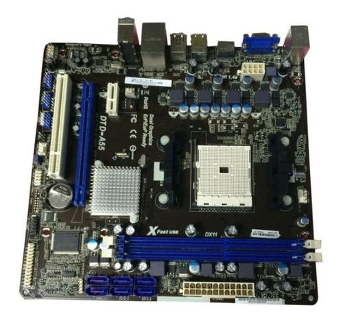 Processador Amd A8-3870k + Placa Mãe