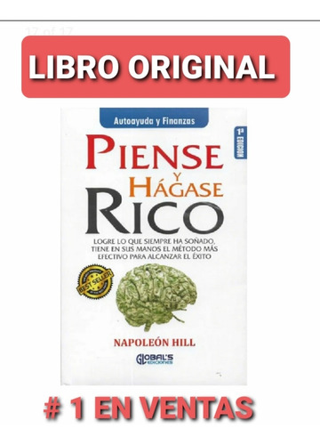 Piense Y Hágase Rico ( Nuevo Y Original )