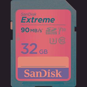 Cartão De Memória Extreme 32gb Sdhc 90mb/s Uhs-i - Sandisk