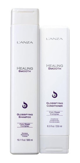 Kit Lanza Healing Smooth Glossifying Sh 300ml + Cond 250ml