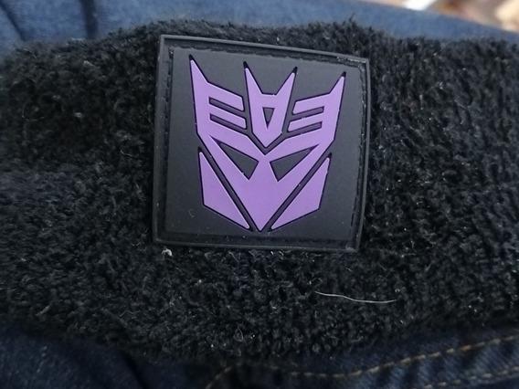 Pulsera Deportiva Para Sudar Tema Transformers Decepticon.
