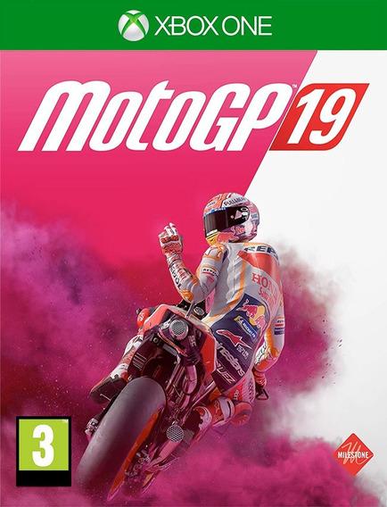 Motogp 19 Xbox One - 100% Original (25 Dígitos)