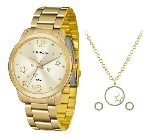 Relógio Feminino Lince Lrgh092l Kv69 Brinde Garantia Nota