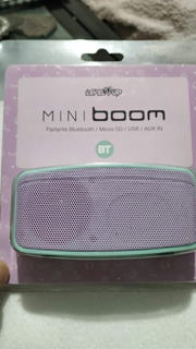 Parlante Bt Level-up Mini Boom