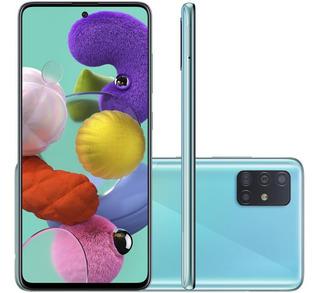 Celular Samsung Galaxy A51 Azul 4gb 128gb Camera Quadrupla