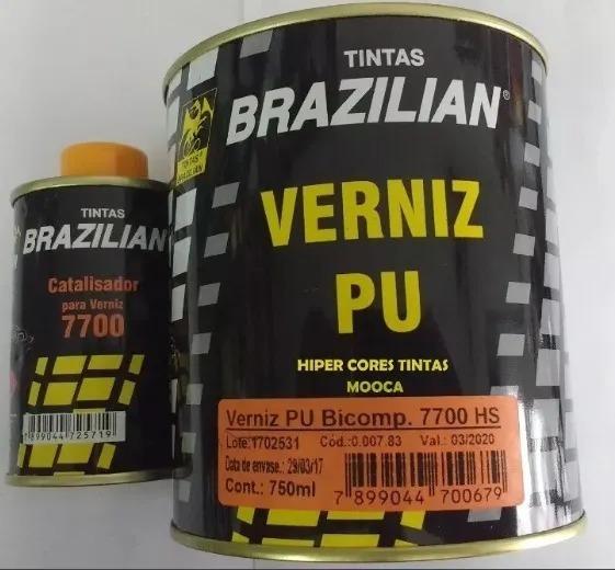 Verniz Automotivo Pu 7700 C/ Catalisador - Brazilian Color