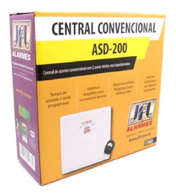Central De Alarme Hibrida Com Controle Asd-200 Jfl
