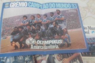 Grêmio Revista Gool Original Do Mundial De 83 Com Lp.