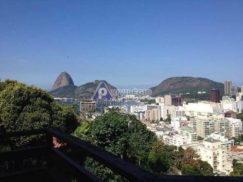 Casa De Rua À Venda, 4 Quartos, 2 Suítes, 3 Vagas, Botafogo - Rio De Janeiro/rj - 4393