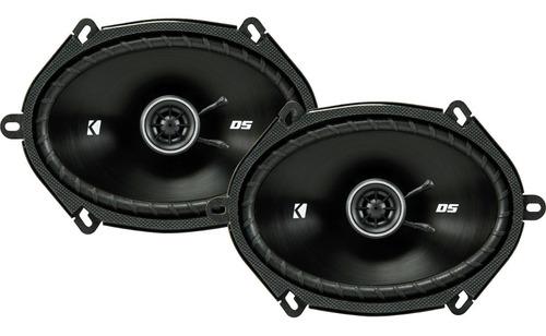 Imagen 1 de 10 de Bocinas Kicker Dsc6804 200w Max 6x8 5x7  Ford