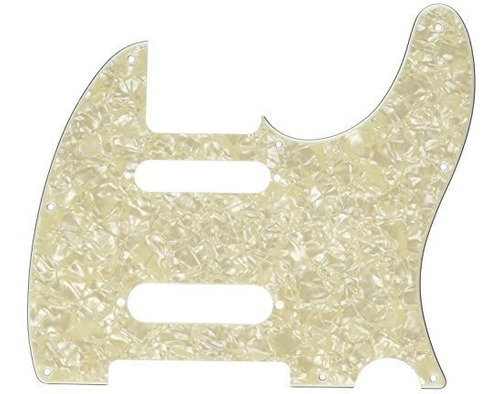 Fender Clasico 5, Blanco, Moto Blanca