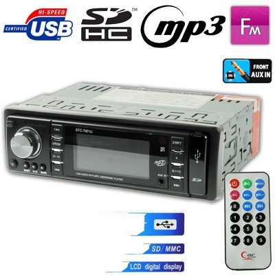 Dvd Vehiculo Panel Desmontable Reproductor Audio