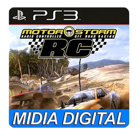 Motorstorm Rc Ps3 Playstation Motor Psn Midia Digital
